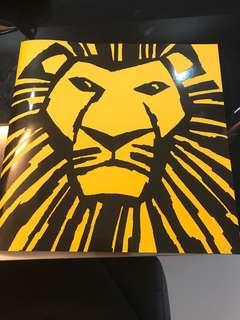 Lion King musical program book 2018