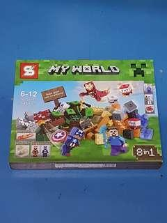 SY 541 Minecraft 8-in-1 Superheroes