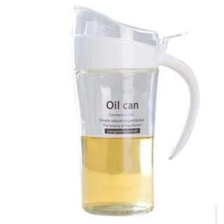 Glass Spill-proof Oil bottle