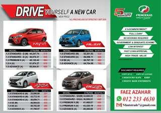 Perodua New Proce With SST