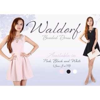 Agneselle AE Waldorf Beaded Dress