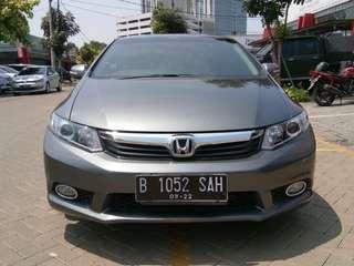 Honda Civic 2,0L AT 2012 Grey Siap Pakai