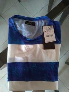 Zara Blue Stripes T-shirt
