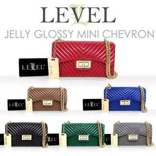 Jelly Glossy Mini Chevron