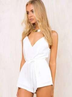White play suit