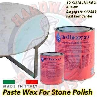 Bellinzoni Paste Wax For Stone Polish (Food Safe)