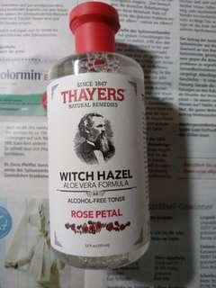 🚚 【現貨】【Thayers Witch Hazel】【金縷梅玫瑰花瓣化妝水】【355ml】
