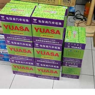 (全新品公司貨) YUASA YCT充電制御 90D23L.90D23R (75D23L加強)新到貨促銷中