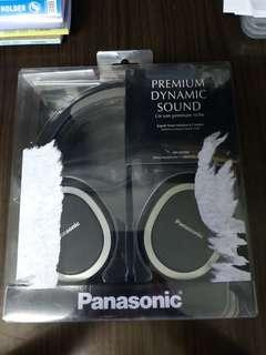 Panasonic Premium Dynamic Sound heaphones