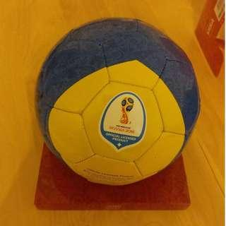 FIFA World Cup Russia 2018 Official Toy Ball Size 2 (加科蘭親筆簽名) 100% New & 100% Real