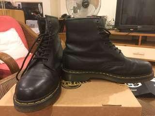 Dr Martens Boots 1460 Soft Black Noir