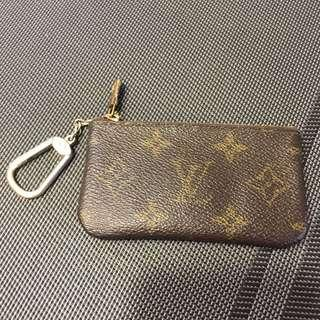 Louis Vuitton Monogram Coinbag and Keychain 100% New 80% Real