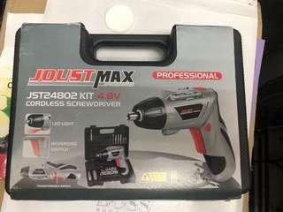 Cordless Drill with light, wireless recharge
