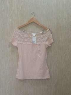 Zara lace top new with tag