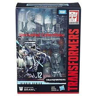 [In hand] Takara Tomy Hasbro TSS Transformers Studio Series Voyager Class SS-12 Brawl