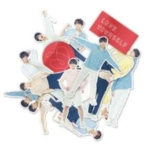 BTS Love Yourself Concert In Seoul Official Deco Sticker