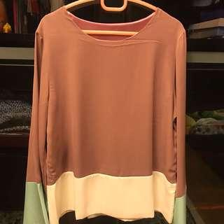 Blouse (Dusty Purple)