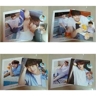 [READY STOCK] Wanna One Summer Package (Photobook+Photocard+Mini Bromide+PVC Sticker)
