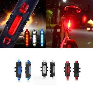 🚚 Rapid X LED Light USB Rechargeable Headlight Taillight Rapid-x Safety Indication-------white