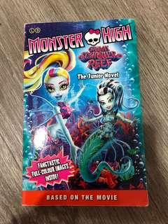 Monster High Great Starrier Reef The Junior Novel
