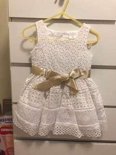 White Dress Size 1