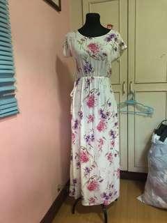 Kimono Inspired Dress with Slit