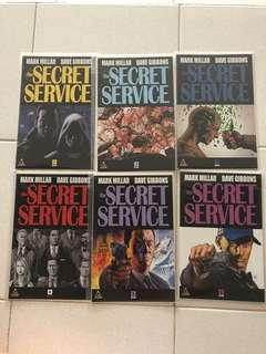 The Secret Service vol. 1 (Complete Set)