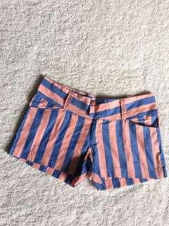 Summer striped shorts