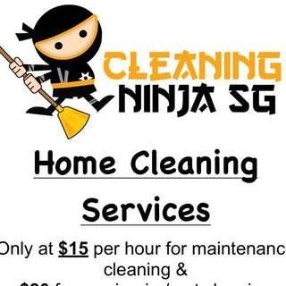 Special offer! Home cleaning service!