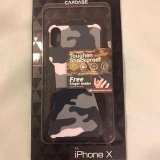 全新CAPDASE Iphone X 保護殼,連Finger holder
