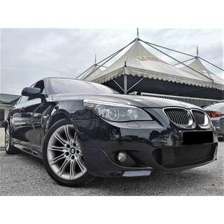 2008 BMW 525i 2.5 M SPORTS (A)[FACELIFT][E60][CKD][ONE OWNER][LIKE NEW][TIP-TOP][PROMOTION] 08