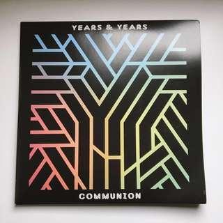 Years & Years Communion Vinyl (LP)