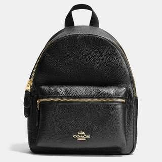 Authentic Coach F28995 Mini Leather Charlie Backpack