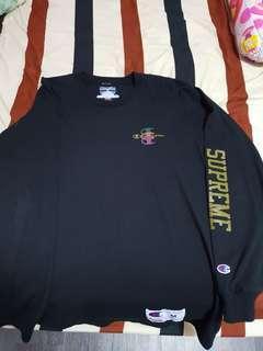 Supreme x Champion Long Sleeve
