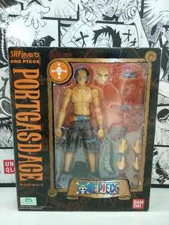 Bandai SHF Figuarts One Piece Ace BIB