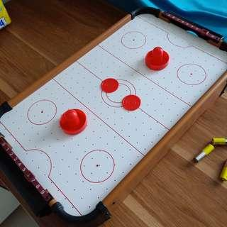 Air ice hockey table