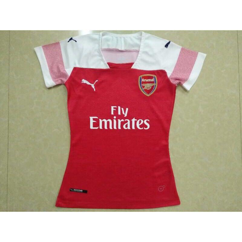 premium selection d17e6 0edcb 18/19 Arsenal Women and Kids Home Kit Jersey, Sports, Sports ...