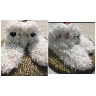 BN Slipper Boot Cute Flappy Rabbit