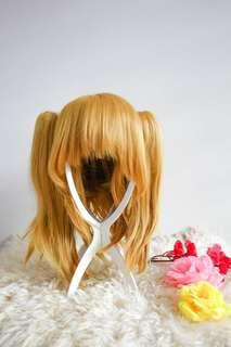 Rima Touya Blonde Twin Tail Clip On Wig