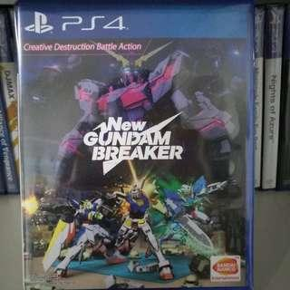 PS4 - New Gundam Breaker