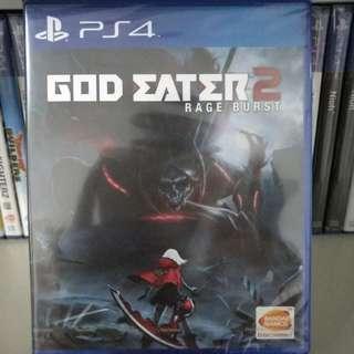 (BN) PS4 - God Eater 2: Rage Burst