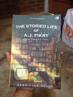 Novel The Storied Life of AJ Fikry