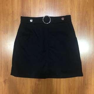 Belted Korean Skirt