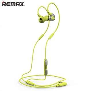 •BRAND NEW• Remax RM-S1 Sport Headset Green