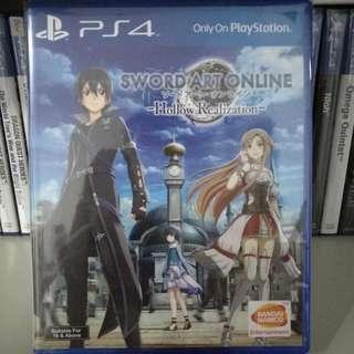 PS4 - Sword Art Online: Hollow Realization