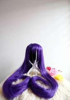 Purple Long Wig