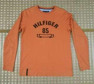 Tommy Hilfiger Long Sleeve 85 Tee - Orange