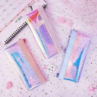 [instocks] holographic pencil case