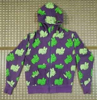 Kidrobot Limited Edition Smoking Rabbit Hoodie