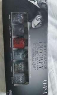 OPI Fifty Shade of Grey set